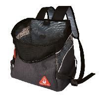 Panier - Sac De Transport DUVO Sac a dos Promenade London Backpack Sporty - 32.5x19x31 cm - Noir - Pour chat et chien de petite taille