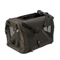 Panier - Sac De Transport DUVO Sac de voyage Click & Go L - 81x59x59 cm - Noir - Pour chien