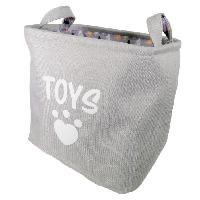 Panier - Sac De Transport Sac Foret en Hiver pour jouets - Gris et blanc - Pour chien