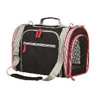 Panier - Sac De Transport Sac Massimo agrandissable - 25x28x39cm - Noir et gris - Pour chien