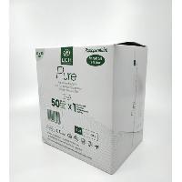 Pansement Generaliste LCH - Boite de 50 Pansements Adhesif avec Compresse Absorbante et Film 10 x 10 cm
