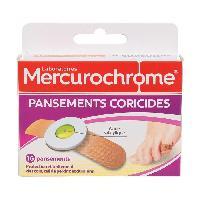 Pansement Generaliste MERCUROCHROME 16 pansements coricide