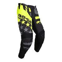 Pantalon - Sur-pantalon - Short Pantalon cross USA - Enfant - Noir et jaune - 1213 ans