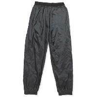 Pantalon - Sur-pantalon - Short Pantalon de Pluie en Nylon Noir
