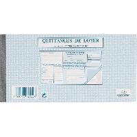 Papier - Cahier - Carnet 50 Feuilles de facture autocollantes - 10.5 cm x 21 cm x 1 cm - Petits carreaux