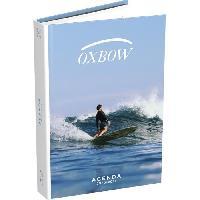 Papier - Cahier - Carnet AGENDA 1 JOUR/PAGE OXBOW WAVE COUV SOUPLE 12X17 352P 20-21 ASSORTI