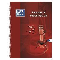 Papier - Cahier - Carnet CAHIER DE TP OXFORD INTEGRALE 240X320 80P 90-120G SE/UNI