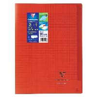 Papier - Cahier - Carnet CLAIREFONTAINE Cahier piqure Koverbook - 96 pages - 21 x 29.7 cm - 90 g - Rouge