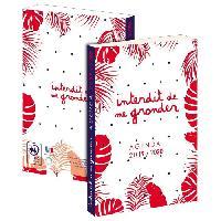 Papier - Cahier - Carnet INTERDIT DE ME GRONDER Agenda Scolaire 2019-2020 193ING101JUP - 1 jour par page - Couverture carton souple - Papier PEFC - 12x17 cm - Aucune