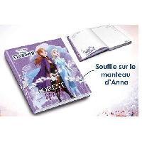 Papier - Cahier - Carnet LA REINE DES NEIGES 2 - Journal Intime Lumineux