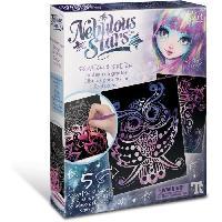 Papier - Cahier - Carnet Nebulous Stars  Tableaux a gratter