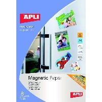 Papier - Cahier - Carnet Pochette de 8 Feuilles de Papier magnetique