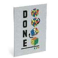 Papier - Cahier - Carnet RUBIK'S Cahier 40 feuilles A4 ligne - 80 pages - 70 g - Done