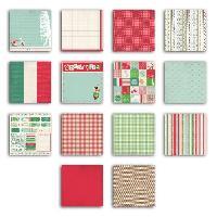 Papier Creatif - Aquarelle - Banane - Chanvre - Du Monde - Fait-main - Foscari Pack 28 feuilles de papier deco Italie 20x20 28f.