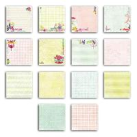 Papier Creatif - Aquarelle - Banane - Chanvre - Du Monde - Fait-main - Foscari Pack 28 feuilles de papier deco Paris 20x20