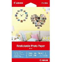 Papier Imprimante - Ramette - Rouleau CANON Papier Photo Repositionnable