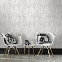 Papier Peint - Revetement Mural (fibre De Verre - Frise - Revetement Adhesif) CONTOUR Papier peint support intisse Bellagio vinyle graine - 1005 x 52 cm - Blanc
