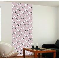 Papier Peint - Revetement Mural (fibre De Verre - Frise - Revetement Adhesif) Panneau en intisse Panoramique - Capri rose240x98cm