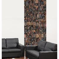 Papier Peint - Revetement Mural (fibre De Verre - Frise - Revetement Adhesif) Panneau en intisse Panoramique - Imprimerie240x98cm