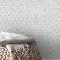 Papier Peint - Revetement Mural (fibre De Verre - Frise - Revetement Adhesif) SUPERFRESCO EASY Papier peint support intisse Ingmar vinyle - 1005 x 52 cm - Gris