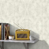 Papier Peint - Revetement Mural (fibre De Verre - Frise - Revetement Adhesif) SUPERFRESCO EASY Papier peint support intisse Sahara vinyle expanse - 1005 x 52 cm - Beige creme