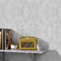 Papier Peint - Revetement Mural (fibre De Verre - Frise - Revetement Adhesif) SUPERFRESCO EASY Papier peint support intisse Sahara vinyle expanse - 1005 x 52 cm - Gris clair