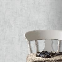 Papier Peint - Revetement Mural (fibre De Verre - Frise - Revetement Adhesif) SUPERFRESCO EASY Papier peint support intisse Senne Uni vinyle - 1005 x 52 cm - Gris