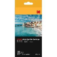 Papier Photo Pour Photo Instantane KODMC50 Pack de 50 feuilles compatible Mini Shot et imprimante Mini 2