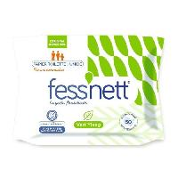 Papier Toilette FESS'NETT Papier toilette humide - Vert ylang
