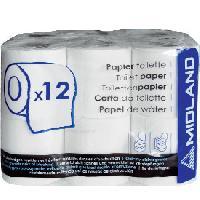 Papiers 12x Papier toilette pour camping car Generique