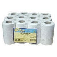 Papiers 15 bobines de 160 feuilles essuie-mains - devidoir central