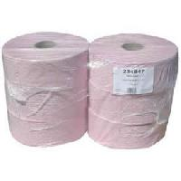 Papiers 6 Rouleaux papier toilette rose 600m 1 pli
