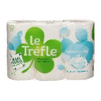Papiers LE TREFLE - Papier toilette Sensation air - Maxi feuille - 6 rouleaux