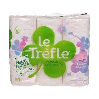Papiers LE TReFLE Papier toilette Maxi feuille Cerisier - Lot de 6 rouleaux