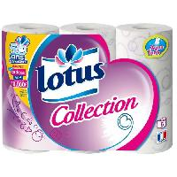 Papiers LOTUS Collection - 6 rouleaux