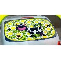 Pare-Soleil & Rideaux Pare-Soleil 1 Pare-Soleil Arriere - Animals on Board - Vache - 100x50cm - ADNAuto
