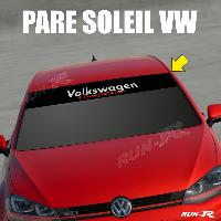 Pare-soleil Adhesifs Sticker 893 pare-soleil pour VW COMPETITION Up Polo Golf Caddy Scirocco Beetle - Run-R Stickers