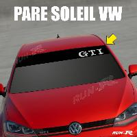 Pare-soleil Adhesifs Sticker 896 pare-soleil VOLKSWAGEN GTI Up Polo Golf Caddy Scirocco Beetle
