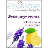 Parfum - Savon ZEN'AROME Cire Parfumee Note de Provence - Parfum d'Ambiance - Pour Brule Parfum - Violette