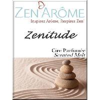 Parfum - Savon ZEN'AROME Cire Parfumee Zenitude - Parfum d'Ambiance - Pour Brule Parfum - Blanche