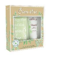 Parfum BIEN ETRE Coffret Eau de Cologne Naturelle Splash 250 ml + Baume Hydradant Amande 100 ml - Bien-etre