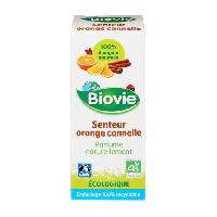 Parfum BIOVIE Senteur orange et cannelle - Bio - 10 ml - Pour diffuseur