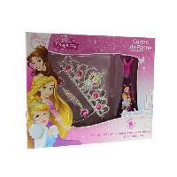 Parfum CORINE DE FARME Coffret Disney Princesses Eau de toilette 30 ml + Gel douche 250 ml + Set de barrettes et bracelets