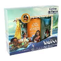 Parfum Coffret Vaiana eau de toilette 30 ml + shampoing 250 ml + 1 set de 2 barrettes et bracelet + 1 marque-pages