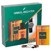 Parfum DANIEL HECHTER Coffret Eau de toilette Caractere 50 ml + Montre