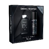 Parfum DANIEL HECHTER Ecrin Eau de parfum Couture Black 100 ml + Déodorant 150 ml
