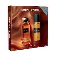 Parfum DANIEL HECHTER Ecrin Eau de toilette Couture Cuir Sensuel 100 ml + Déodorant 150 ml