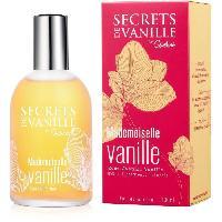 Parfum Secrets de vanille - mademoiselle vanille 100ml - Aucune