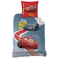 Parure De Couette CARS RACE Parure de couette enfant 140 x 200 cm