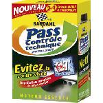 Pass controle technique Anti-pollution Essence - 2x300ml - BA9044 - Bardahl